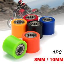 8 мм 10 мм натяжитель колеса мотоцикла цепь шкив яма грязи роликовый ползунок велосипед