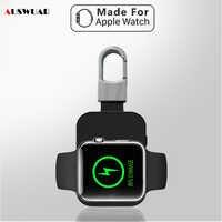 Chargeur sans fil batterie externe pour iWatch 1 2 3 4 5 Portable Mini batterie externe porte-clés pour Apple Watch chargeur sans fil