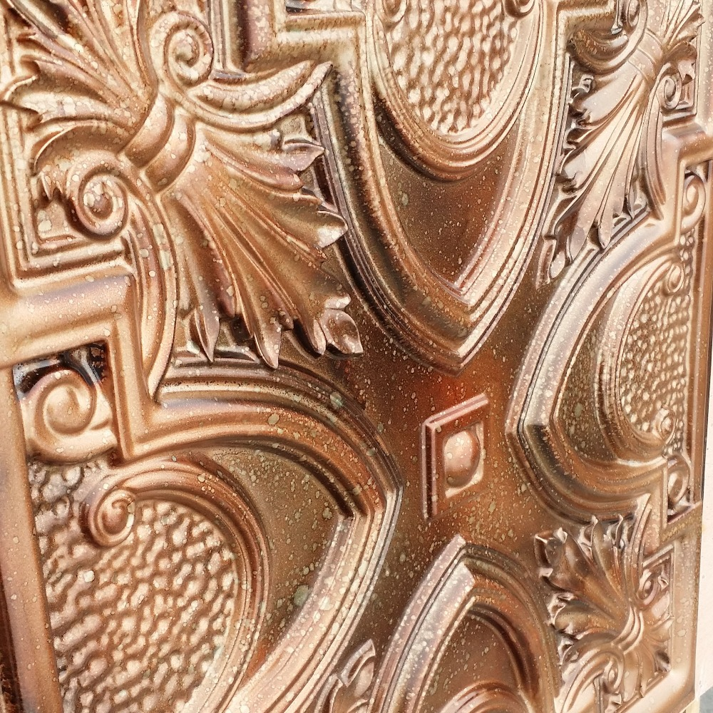 Real copper ceiling tiles image collections tile flooring design solid copper ceiling tiles image collections tile flooring pl11 faux tin fleck copper ceiling tiles interior dailygadgetfo Images