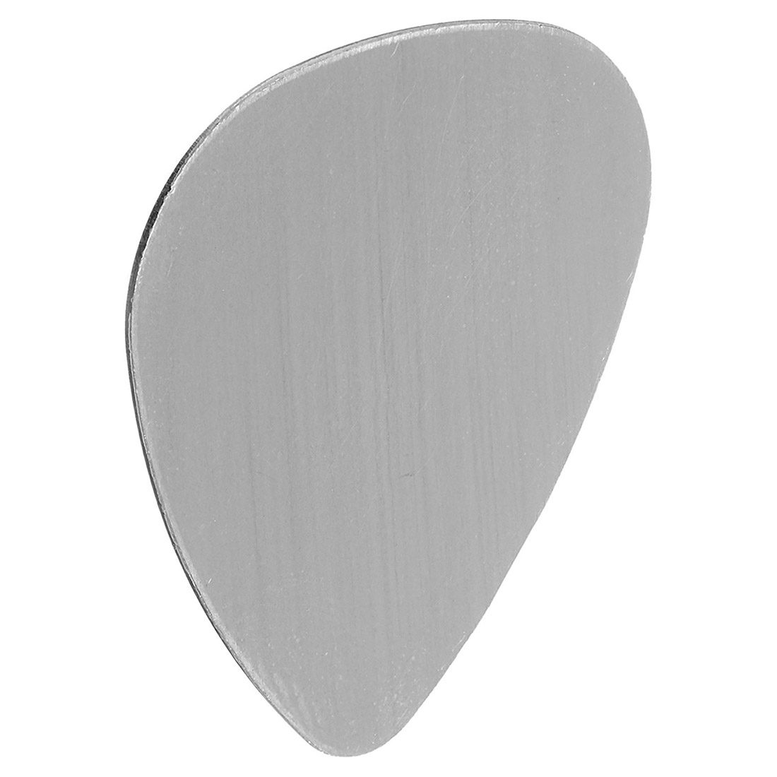 Music-S 20x Silver Guitar Pick No Hole Blank Stamping, 26.6*30mm