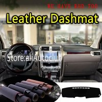 For Lexus Gx460 Gx 460 2010 2011 2012 2018 Leather Dashmat Dashboard Cover Dash Mat SunShade Carpet Custom Car Styling LHD+RHD|  -