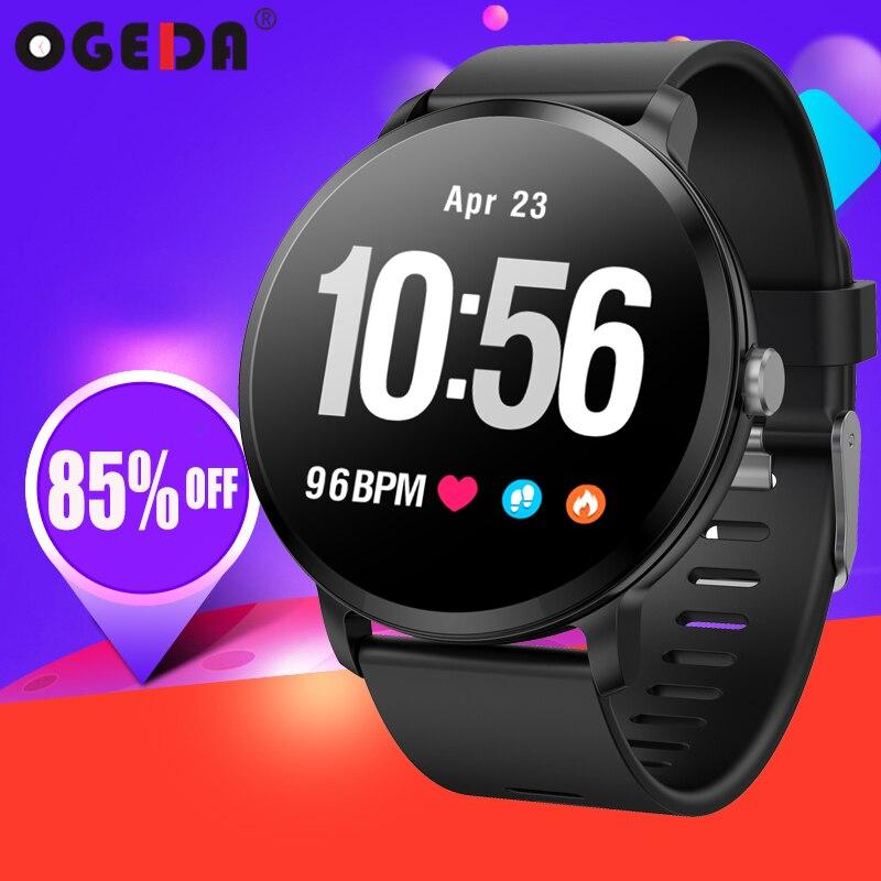 Smart watch V11 Bluetooth fréquence cardiaque Sang Pression vibrations Prévisions Météo horloge en verre trempé fitness tracker smart watch
