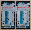 New Redmi Note 3 Pro Front LCD Housing Middle Faceplate Frame Bezel Replacement Parts For Xiaomi Redmi Note 3 With Stickers