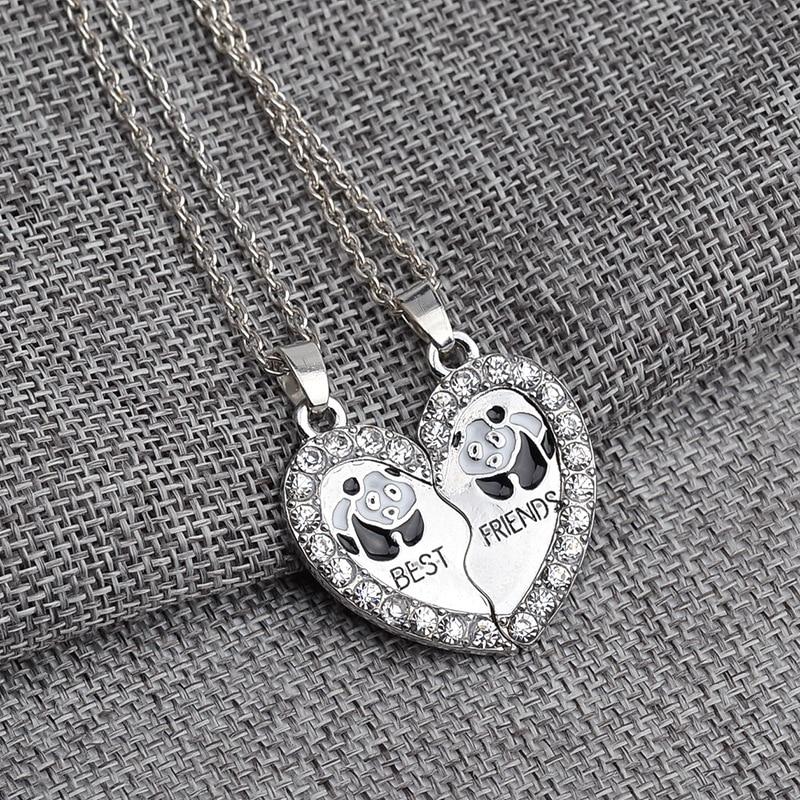 Best Friends Panda Necklace