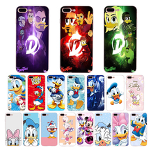 Soft silicone phone case for iphone x xs xr xsmax 8 7 6s 6 plus 5 5s se Donald Fauntleroy Duck family TPU cartoon cover shell