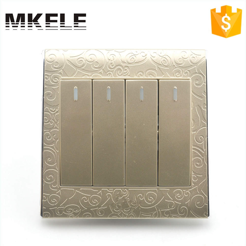 Hot Sale 4 Gang 1 Way Touch Wall Light MK-WS05007 Residential And House Using Best Price Economy  With On Off Switch 1000g hot sale 100% natural concentrate banana powder with best price worldwide fast delivery