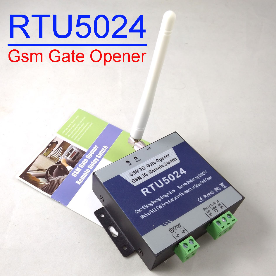 Economical Smart RTU5024 GSM Relay Switch Remote Access Control Wireless Sliding Gate Opener
