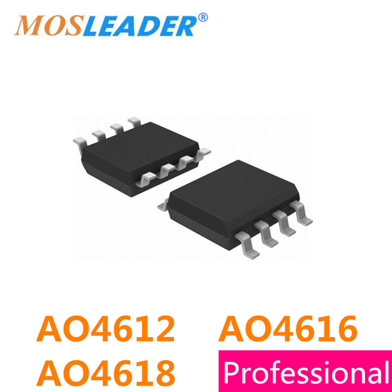 AO4612 AO4616 AO4618 SOP8 100PCS 300PCS 500PCS N+P Channel 60V 4612 30V 4616 40V 4618 mosfet High quality газовая плита greta 1470 00 исп 23 белая