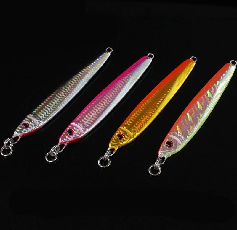4 pcs metal jigs chumbo gabaritos faca 14 8 cm 200g iscas de pesca de atum