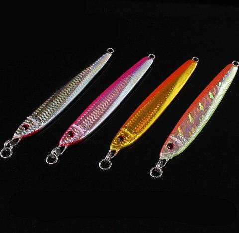 4 pcs metal jigs chumbo gabaritos faca 14 8 cm 200g iscas de pesca de