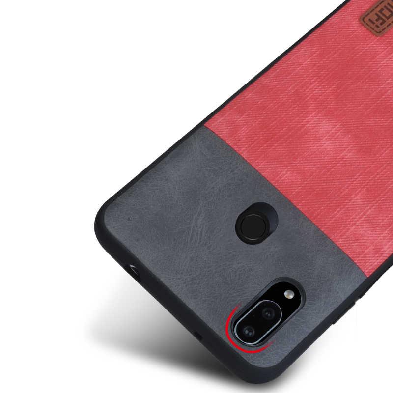 Оригинальный Mofi для huawei P Smart Plus чехол для huawei P Smart + чехол силиконовый магнитный автомобильный держатель кожаный P Smart + чехол