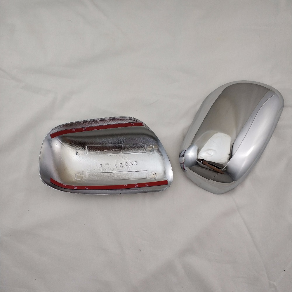 ABS Chrome Car Side Door Rear View Mirror Cover for Toyota Corolla 2001 VIOS 2003 PROBOX SUCCEED(China)