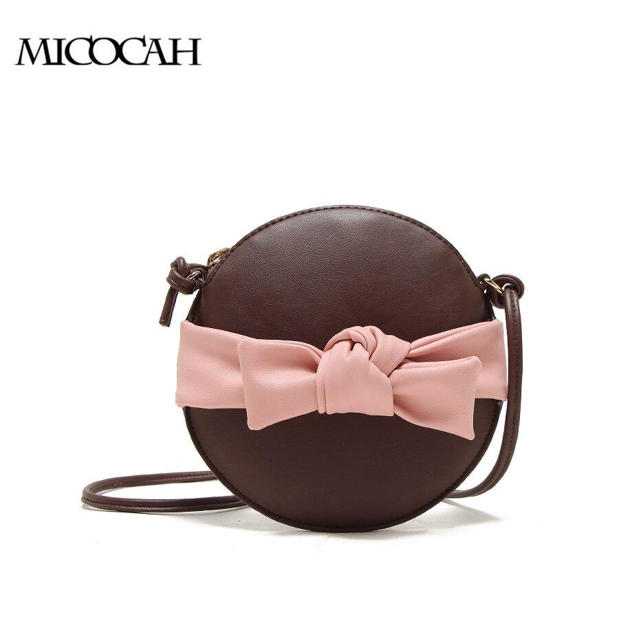 MICOCAH Bogen Frauen Kupplung Schwarz Crossbody Frauen Tasche Kreis Stil Mode-taschen 3 Schwarz/Rot/Kaffee NCS086