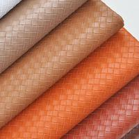 1 Meter Plaited Imitation Leather Material For Bag Shoes Furniture Thick Artificial Leather Fabric Textiles Leatherette