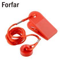 Forfar универсальная спортивная Беговая машина безопасный ключ беговая дорожка Магнитная безопасность переключатель замок красный полезный