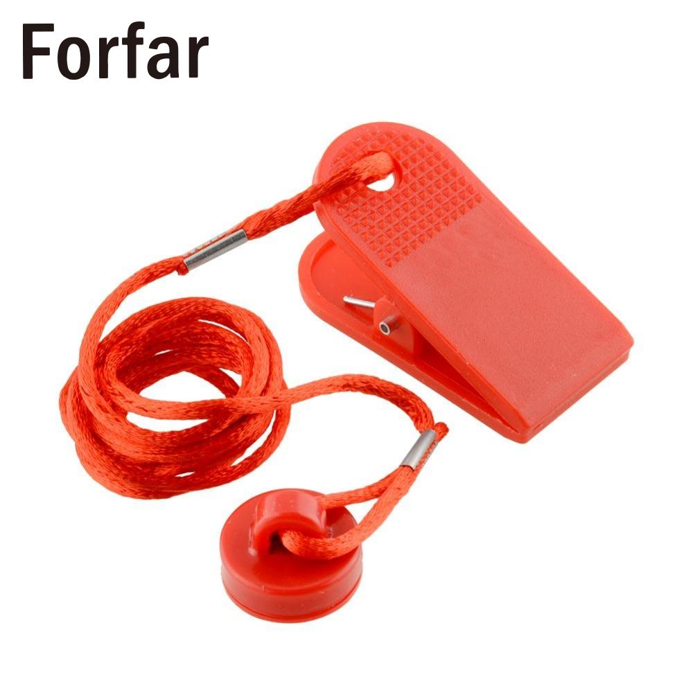 Forfar Universal Sports Running Machine Safety Safe Key Treadmill Magnetic Security Switch Lock Red Useful