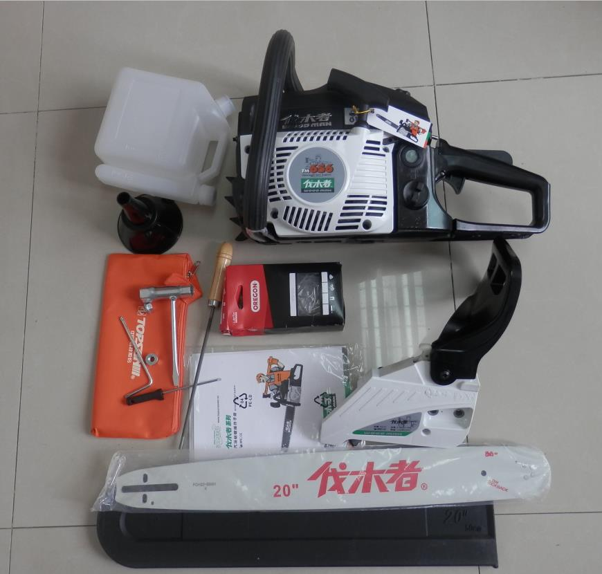 56CC 656 PETROL CHAINSAW WITH 20