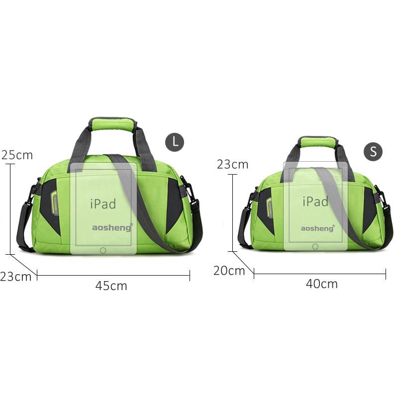 Image 2 - Scione Travel Luggage Handbags Women High Quality Sport Duffel Shoulder Bags Men Simple Casual Fitness Outdoor Crossbody BagTop-Handle Bags   -