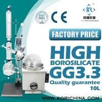 Купить 10L стекло рубашкой испарителя/ротационный вакуумный испаритель/роторном испарителе из Китая лаборатории производителя оборудовани