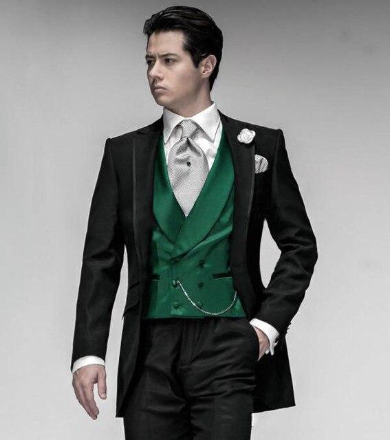 Fitted Suit Jackets for Men Hot Stylish Men Suit Coat British ...