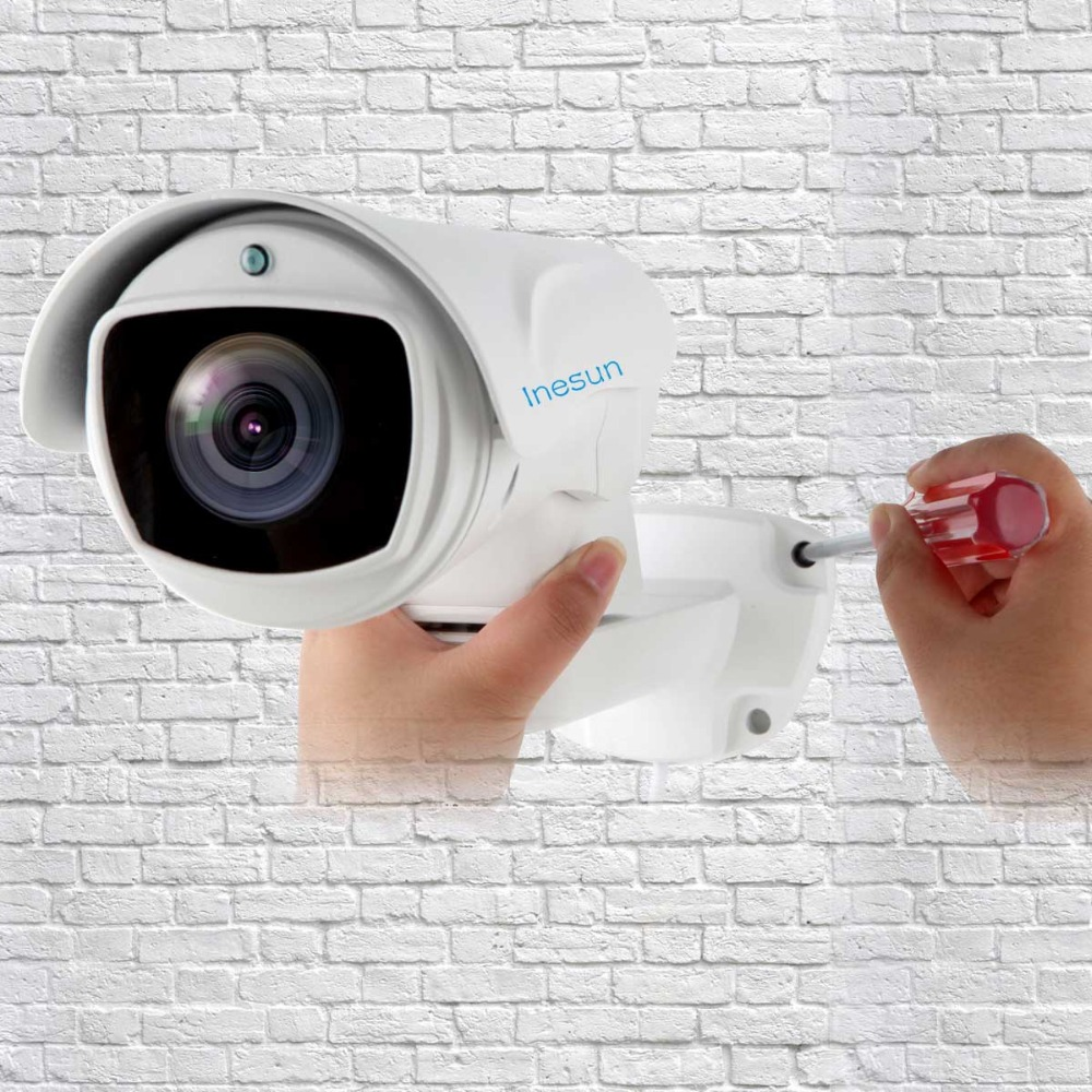 Image 5 - Inesun 5MP (2688x1944) Super HD AHD PTZ CCTV Camera 10X Optical Zoom Outdoor Video Surveillance Security Camera 330ft Laser IR-in Surveillance Cameras from Security & Protection