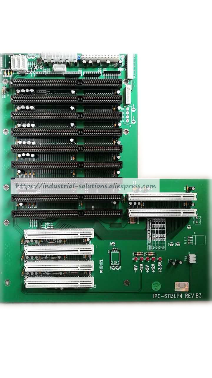 Original industrial motherboard IPC-6113lp4 Rev.B3 Base Plate 100% Tested Good Quality interface pci 2796c industrial motherboard 100% tested perfect quality