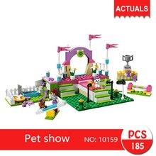 bela 10159 185cs Friends series Pet show  Building Blocks   Bricks Toys For Children  Gift 41008