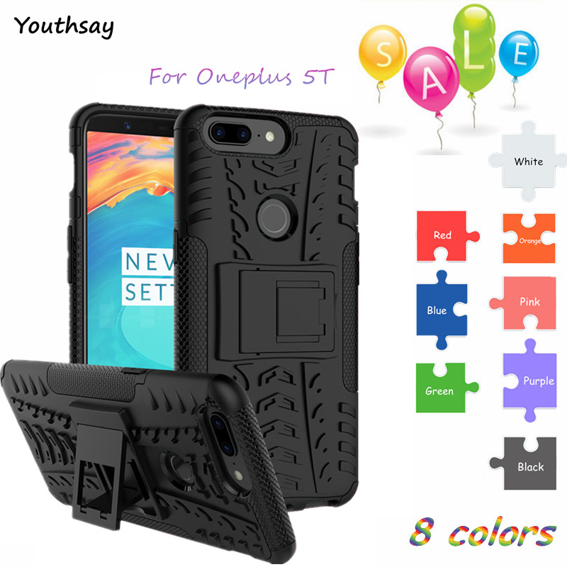 Oneplus 5T Case Cover Armor Rubber Hard Back Phone Case For Oneplus 5T Back Cover For Oneplus 5T 5 T A5010 Coque Fundas Youthsay image