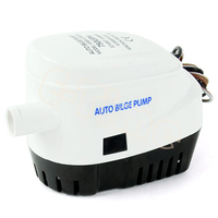 Automatic Boat Bilge Pump With 12V 24V 750GPH Durable DC Electric Auto Water Pump Submersible Used In Motor Boat Accessories