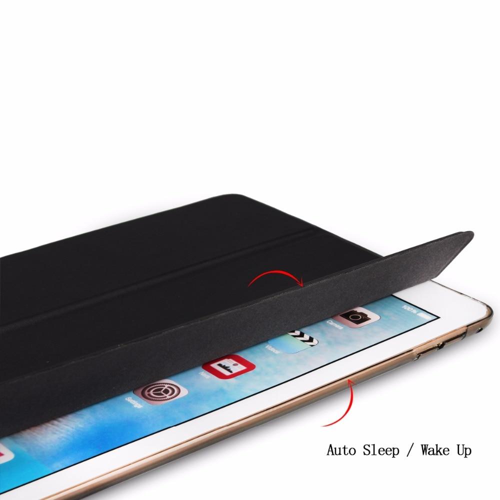 IPad Pro 12.9 «үшін 2016 PU Color Slim Smart Case қақпағы - Планшеттік керек-жарақтар - фото 2