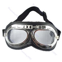 Motorcycle Goggles Scooter ATV Driving Eyewear Glasses Sunglass Clear Lens New hot sell