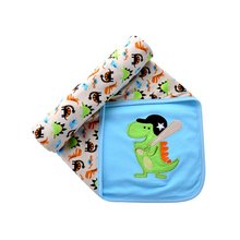 Baby Swaddles 100% Cotton Newborn Baby Blanket 80*80cm 2 Layers Spring Autumn Baby Swaddle Sleeping Bag Sleepsack