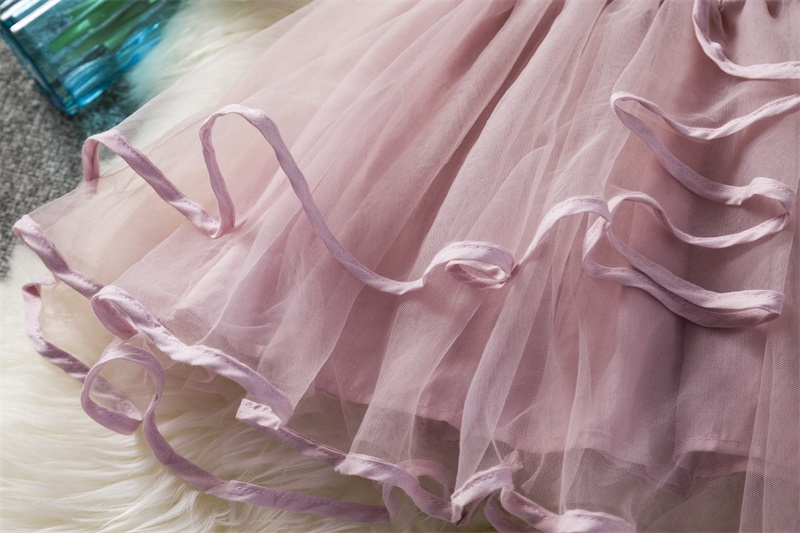 HTB1VNf.adfvK1RjSspoq6zfNpXag Summer Dresses For Girl 2018 Girls Clothing White Beading Princess Party Dress Elegant Ceremony 4 5 6 Years Teenage Girl Costume