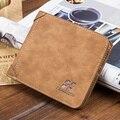 High quality Matte PU Leather Wallet Men purse , Wholesale Fashion Leather men Wallets, Free Shipping