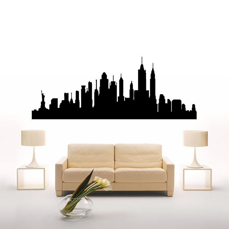wall decals new york city decal vinyl sticker home decor bedroom
