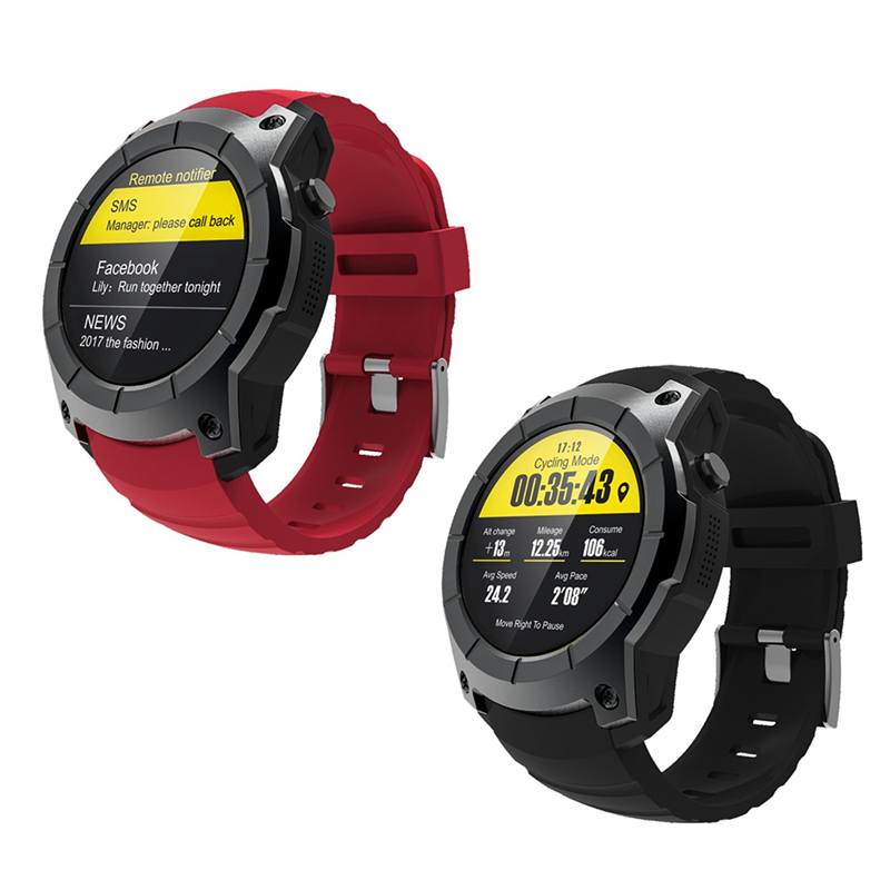 New S958 Smart Sports GPS Watches Pedometer Heart Rate Wristwatch Support 2G SIM TF Card Fitness Tracker Watch For Android IOS heart rate tracker smart watch c5 waterproof wristwatch sport pedometer smartwatch for ios android smartphone with sim watch p20