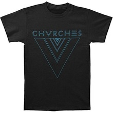 лучшая цена Adult Slim Fit T Shirt S-Xxl Short Sleeve Men Fashion Crew Neck Different  Chvrches Tron V  T Shirts