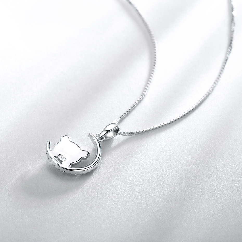 silver chinese new year gift pig pendant for women  (2)