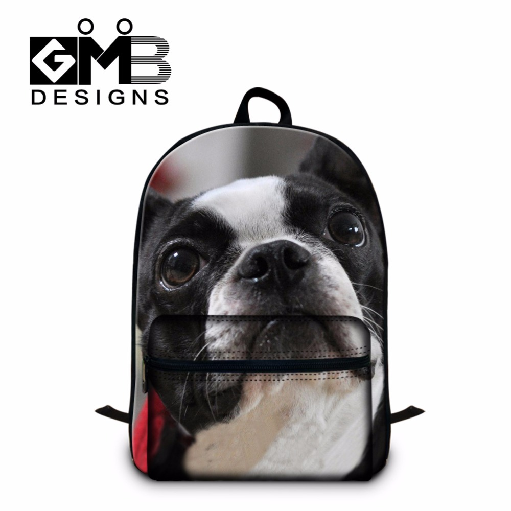 Dog Backpacks for Girls Cute School Bookbags Laptop back pack for College Boys Cute Mochilas Schoolbags for teenagers Book bags cute animal print computer backpacks dog laptop back pack for 14 inch boys cat school bookbag college girls mochila book bag