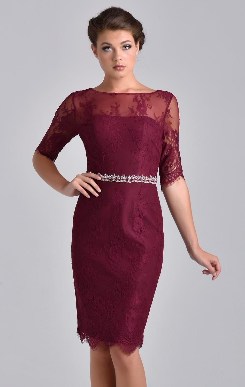 Maroon Cocktail Dresses - Purple Graduation Dresses