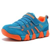 Autumn Winter Sneakers Kids Footwear Girls Boys Sports Genuine Leather Breathable Skidproof Waterproof Running Children Shoes