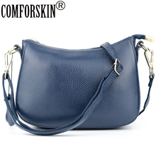 COMFORSKIN Bolsa Feminina Large Capacity Cross-body Bags For Women Luxurious 100% Genuine Leather Handbags High Quality