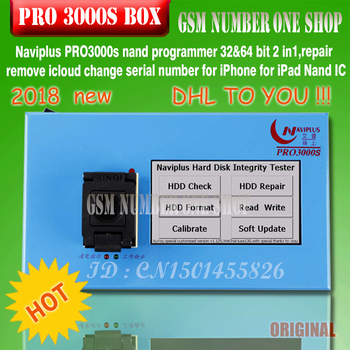 navi plus PRO3000S 32 64 bit nand programmer,repair HDD serial number SN,for iPhone 6p 6 iPad mini naviplus for ios 11 ios11 DE ipad mini2 hdd disk nand fixture repair tool for refresh the system nand and re write sn data recovery with directly assembly