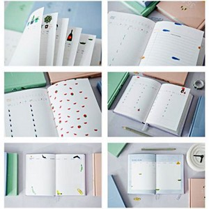 Image 5 - חמוד מכתבים מחברת 365 מתכנן Kawaii A5 חודשי שבועי יומי יומן מתכנן 2019 מחברות כתבי עת ספר