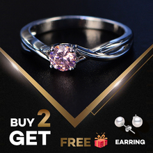 PANSYSEN Exquisite 5mm Round Emerald Rings for Women 100% Real 925 Sterling Silver Gemstone Wedding Party Jewelry Ring Size 6-9 цена в Москве и Питере