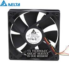 Delta Für 120mm AFB1212VH BL3V fan 12025 120mm 12V 0,60 A 3 linien gewidmet lüfter für 120*120*25mm