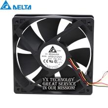 Delta For 120mm AFB1212VH BL3V fan 12025 120mm 12V 0.60A 3lines dedicated cooling fan for  120*120*25mm