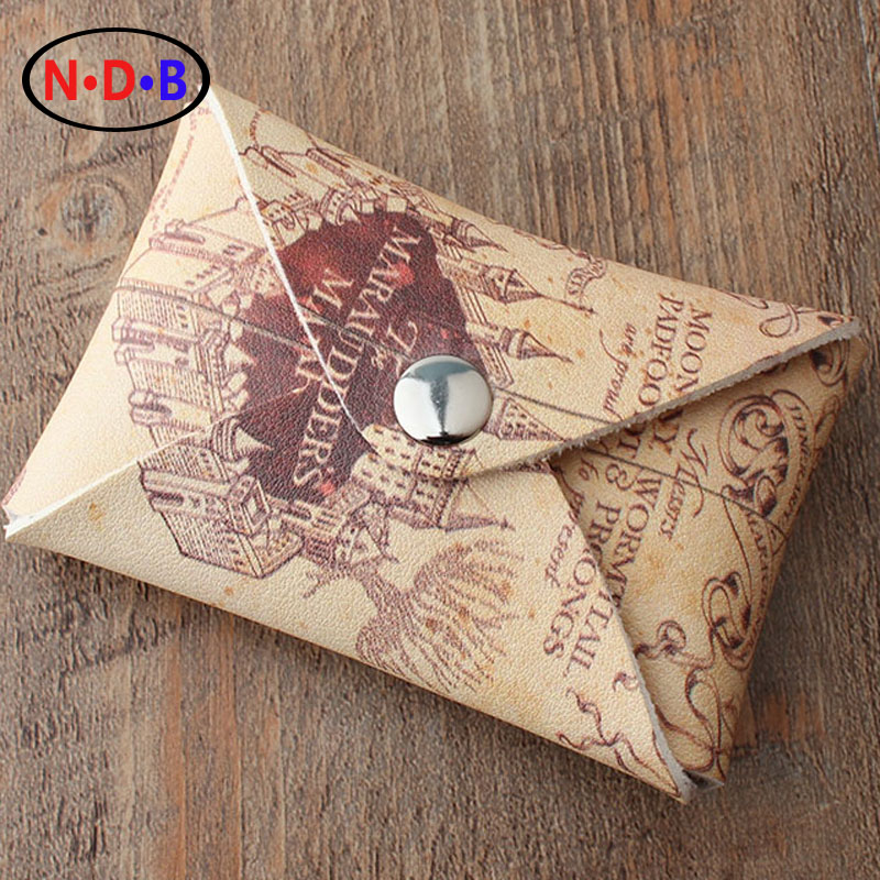 (Coin Purses) Harry Potter live map change package Metrosexual fashionista classic bag cover type hand bag coin purses the movie aladdin and the magic lamp zero wallet metrosexual fashionista out coin purse bag lqb1046