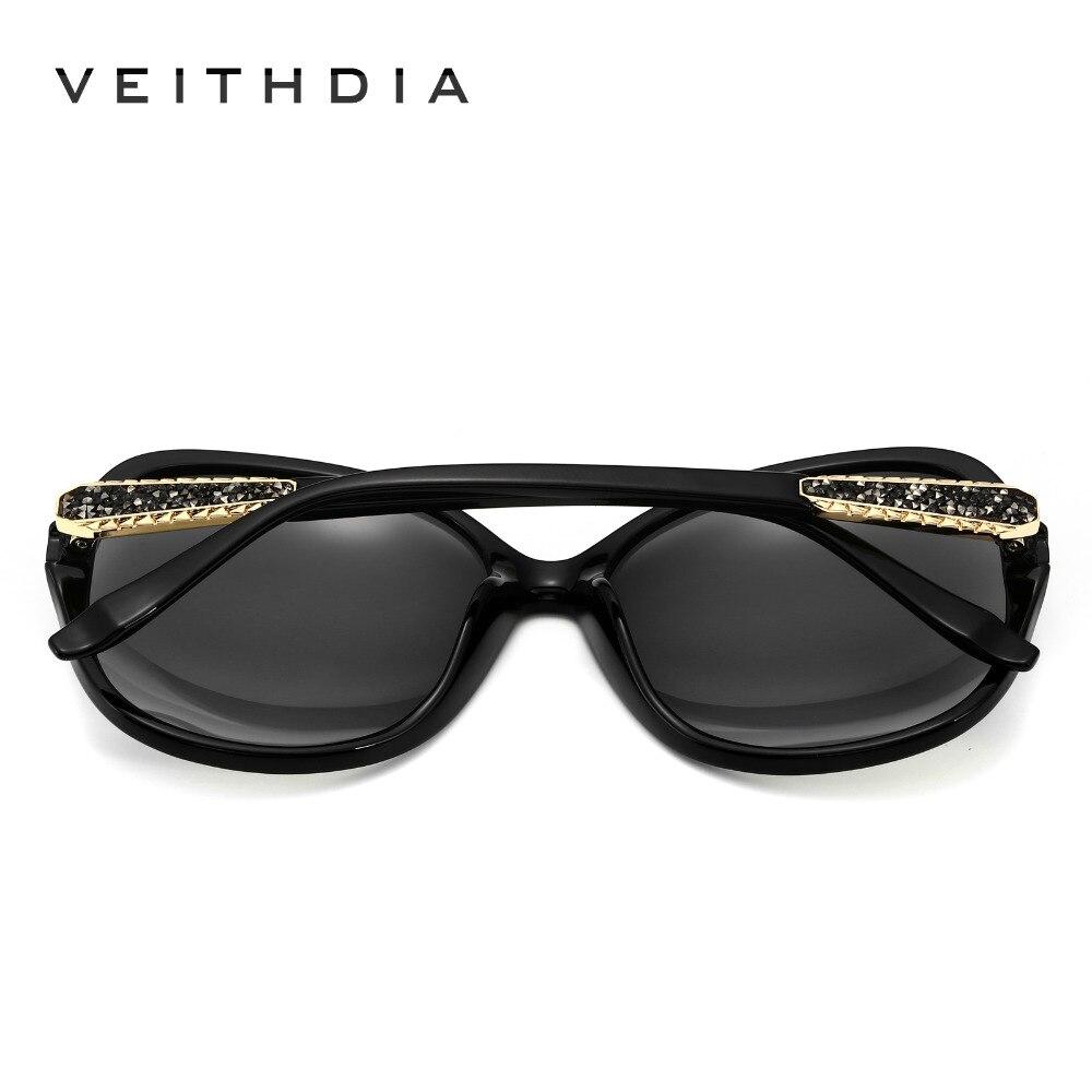Image 3 - VEITHDIA Retro Sun glasses Polarized Luxury Ladies Brand Designer Women Sunglasses Eyewear oculos de sol feminino V3025oculos de sol femininosunglasses eyewearretro sun glasses -