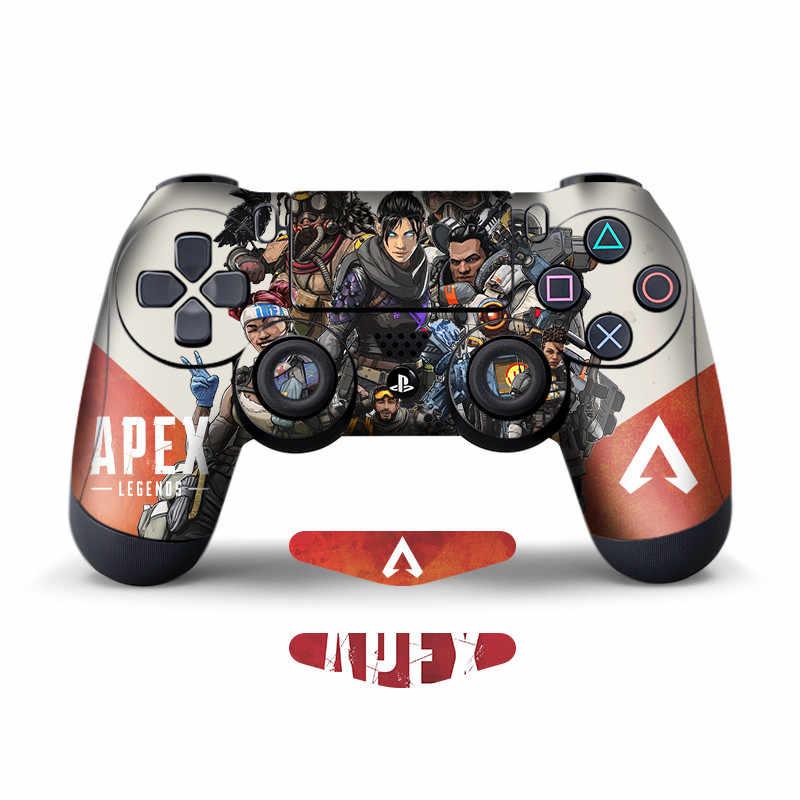 2 Pcs Aufkleber Für Sony Playstation4 Spiel Controller Für Ps4 Ps4 Pro Ps4 Dünne Haut Für Apex Legends